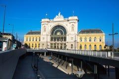 Budapest Keleti railway station (Hungarian: Budapest Keleti palyaudvar) Opened August 16, 1884. Stock Image