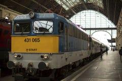 Budapest Keleti railway station (Hungarian: Budapest Keleti palyaudvar) Opened August 16, 1884. Royalty Free Stock Images