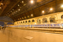 Budapest Keleti Railway Station, Hungary Stock Photography