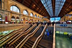 Budapest Keleti railway station Royalty Free Stock Images