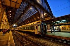 Budapest Keleti railway station Royalty Free Stock Photography