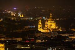 Budapest-Kirche Stockbild