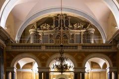 budapest kościelnego miasta wewnętrzna parafia obraz royalty free