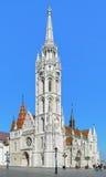 budapest kościelny Hungary Matthias Zdjęcia Stock