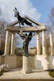 Budapest-Kriegs-Statue Lizenzfreie Stockfotografie