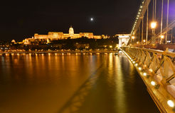 Budapest kunglig slott Royaltyfri Bild