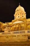 Budapest kunglig slott Arkivfoto