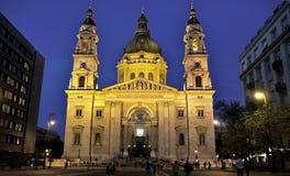 Budapest kyrka arkivfoton