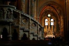 budapest kyrkliga hungary Royaltyfria Bilder