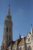 budapest kyrkliga hungary matthias Royaltyfria Bilder