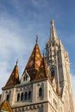 budapest kyrkliga hungary matthias Royaltyfri Fotografi