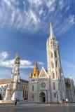 budapest kyrkliga hungary matthias Royaltyfria Foton