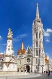 budapest kyrkliga hungary matthias Arkivbild
