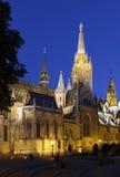 budapest kyrkliga matthias Arkivfoton