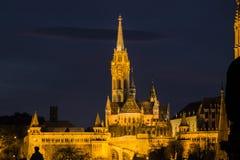 budapest kyrkliga matthias Royaltyfri Fotografi