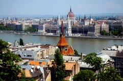 Budapest - l'Ungheria Fotografia Stock