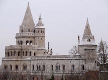 Budapest, la bastion du pêcheur Images stock
