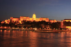 Budapest la nuit photo stock
