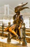 Budapest la petite princesse, Hongrie Photos stock