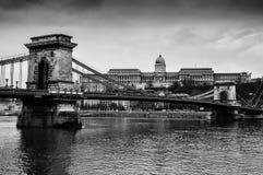Budapest landmarks Royalty Free Stock Images