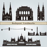 Budapest landmarks and monuments Stock Photo
