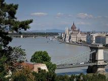 Budapest-Landschaften stockbild