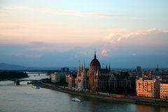 Budapest late afternoon Royalty Free Stock Images