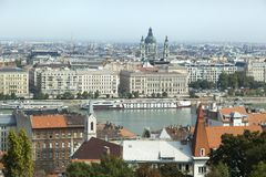 Budapest le Danube photographie stock libre de droits
