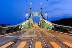 Budapest Liberty bridge Stock Photo