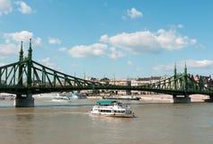 Budapest, Liberty Bridge Stock Photos