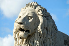 Budapest Lion Royalty Free Stock Images