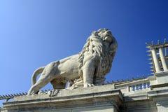 Budapest lion Stock Photography