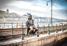 Budapest Little Princess, tourist attraction and city symbol Stock Photography
