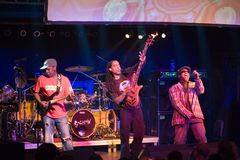BUDAPEST: Living Colour Band performs Royalty Free Stock Images