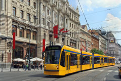 Budapest main street Stock Images
