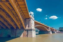 Budapest Margaret Bridge Fotografía de archivo libre de regalías