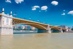 Budapest Margaret bridge Royalty Free Stock Photos