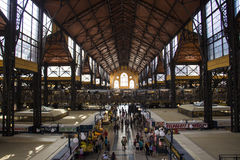 Budapest market hall royalty free stock photo