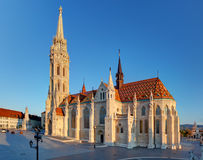 Budapest -  Mathias Church at day Royalty Free Stock Image