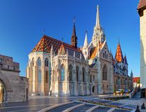 Budapest - Mathias church, Hungary Stock Images