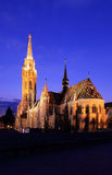 Budapest Matthias Church Stock Image