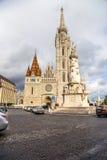 Budapest. Matthias Church 2 Royaltyfri Bild