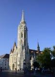 Budapest matthias church editorial Royalty Free Stock Image