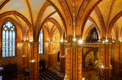 Budapest_1. Matthias church in budapest hungary Stock Photography