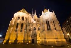 Budapest Matthias church Stock Images