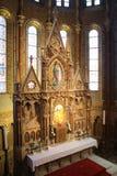 Budapest Matthias kościół - ołtarz inside Obraz Stock