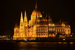Budapest on MAY 2015. Budapest by night (Hungary) on MAY 2015 Stock Image