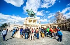 Budapest miasto Węgry punkt zwrotny Obrazy Royalty Free
