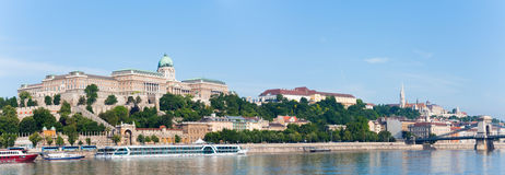 Budapest morning panorama Royalty Free Stock Images