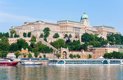 Budapest morning view Royalty Free Stock Photos
